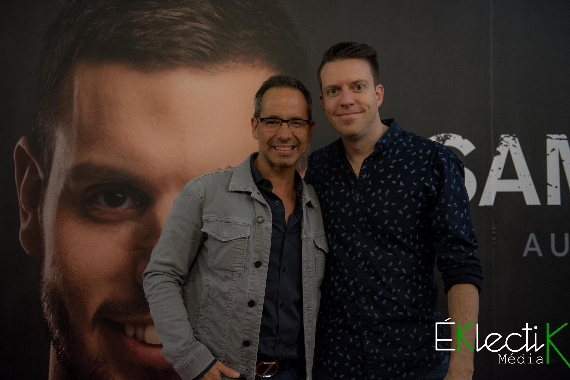 José Gaudet et Alex Roy