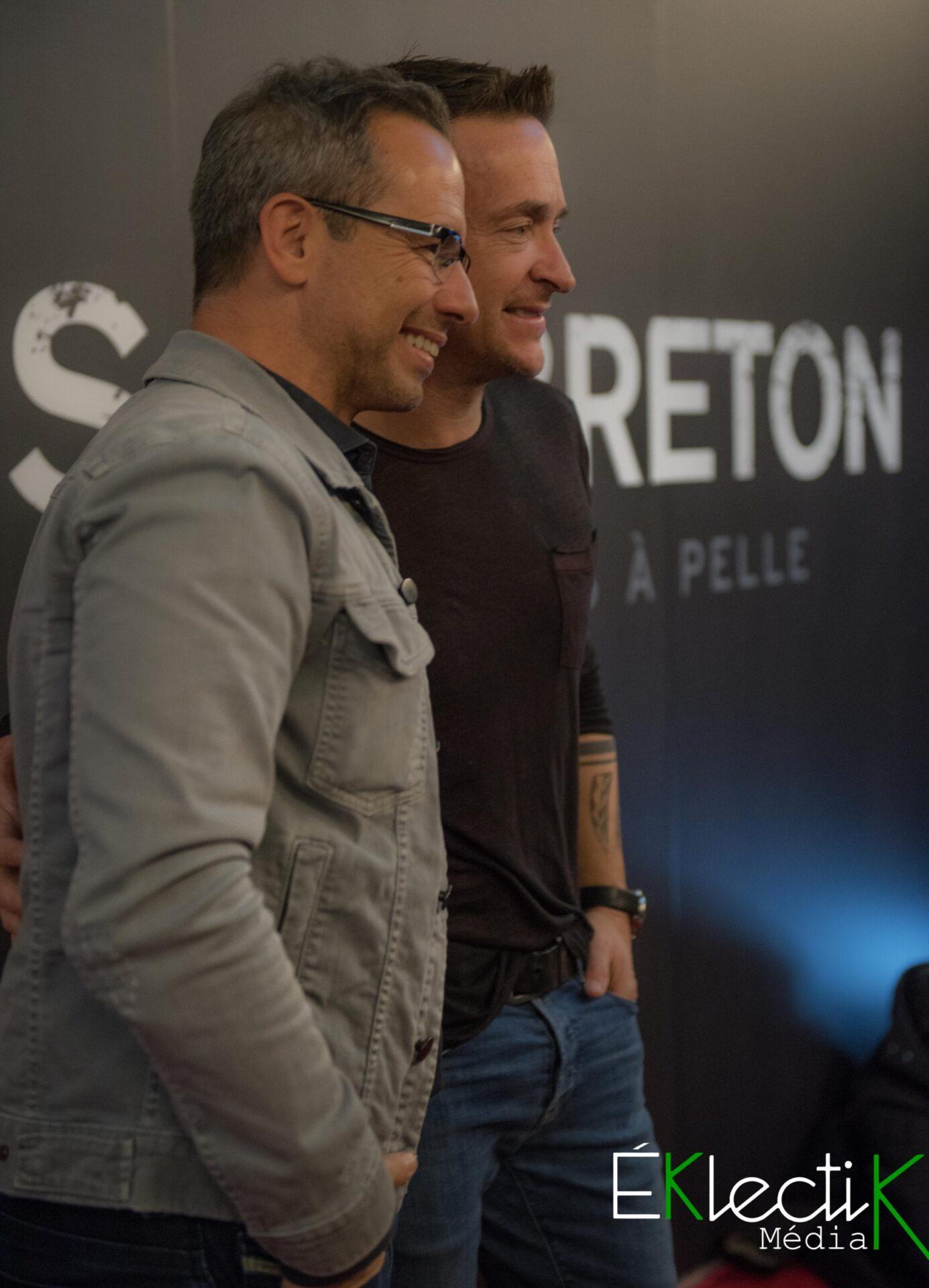 José Gaudet et Mario Tessier