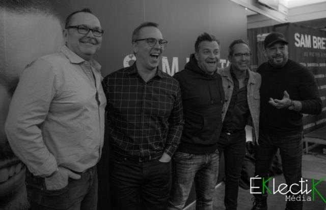 Jean-Michel Anctil, Gino Chouinard, Patrick Groulx et José Gaudet