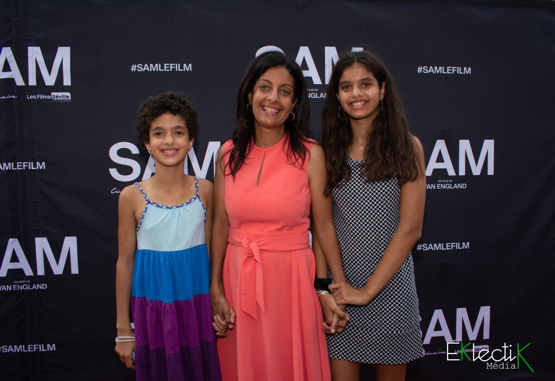 Dominique Anglade et ses filles