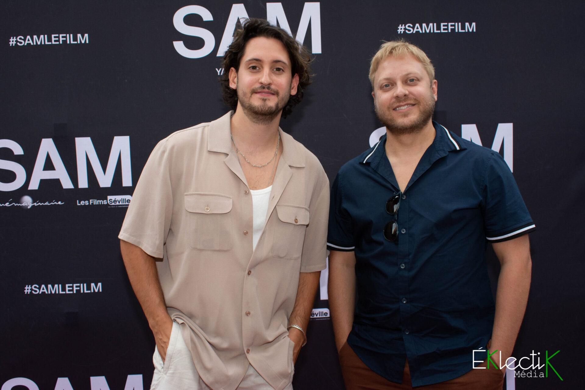 Lou-Pascal Tremblay et Guillaume Lambert
