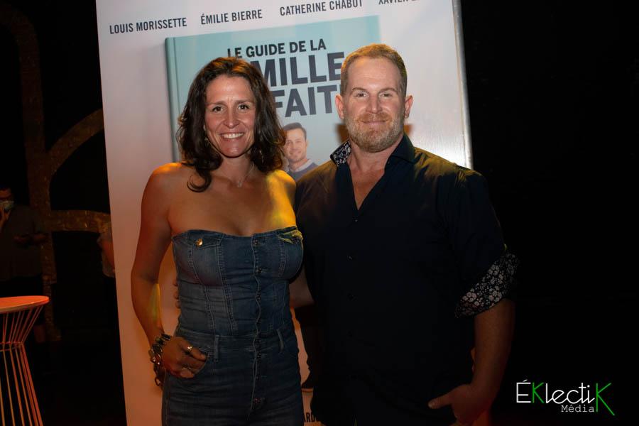 Geneviève Laroche et Alexandre Goyette