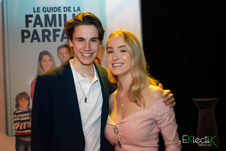 Justin Cloutier-Morissette et Émilie Bierre