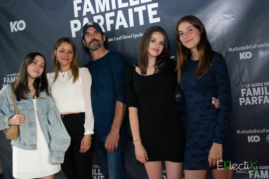 Isabelle Guérard et sa famille