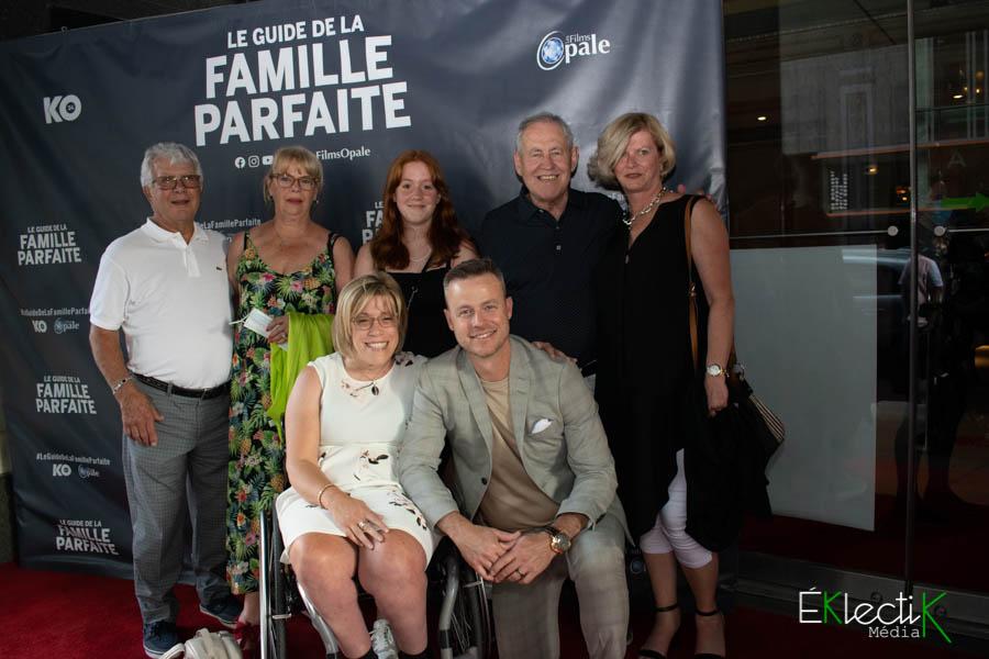 Louis Morissette et sa famille