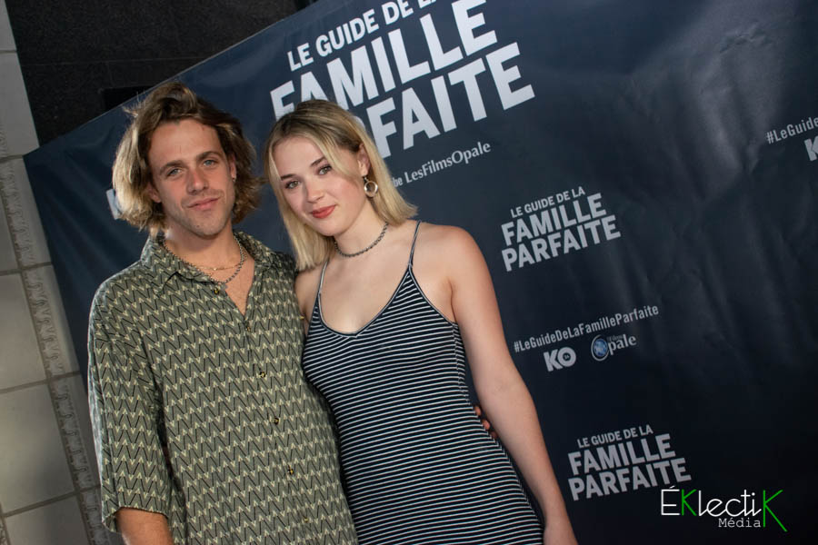 Maxime Guilbault et Émi Chicoine
