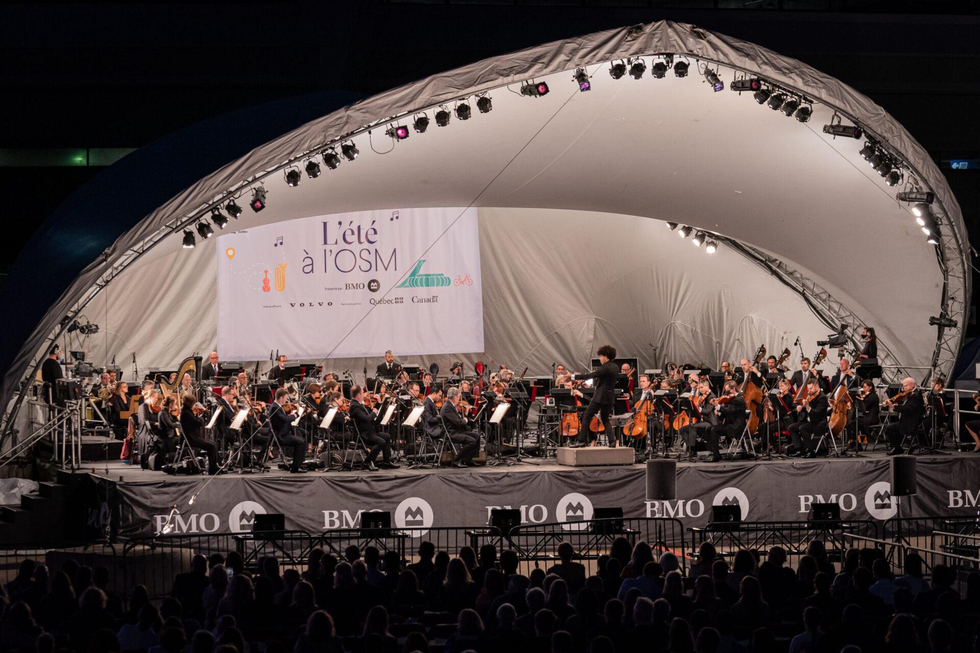 OSM concert au Parc Olympique